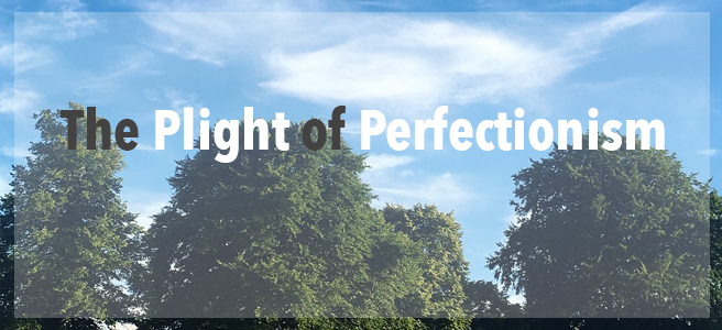The Plight of The Perfectionist