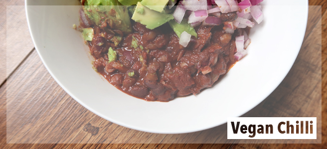 Food: Easy Vegan ChilliRecipe