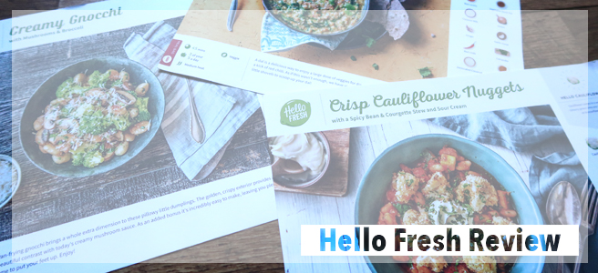 Food: Hello Fresh!