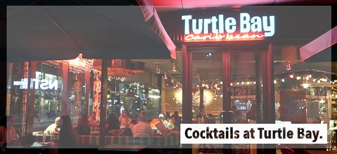 Cocktails at TurtleBay